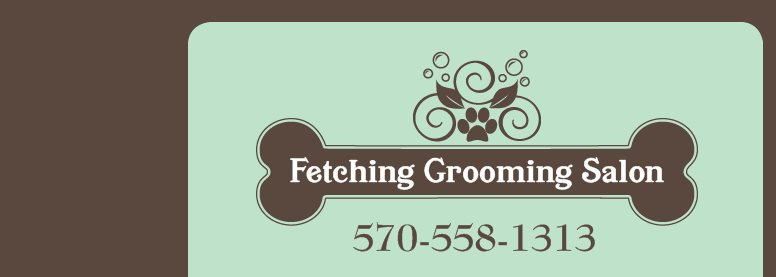 Fetching Grooming Salon - 570-558-1313